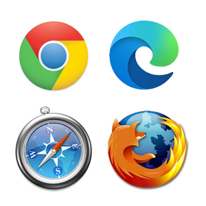 Technologie Browserlogos